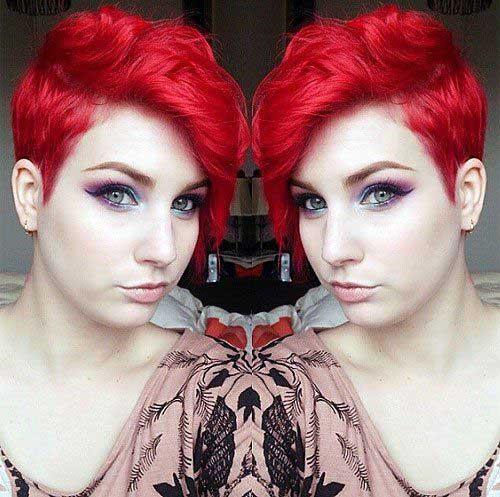 Red Pixie Hair-13