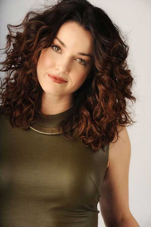 Short Hairstyles for Thick Curly Hair-14