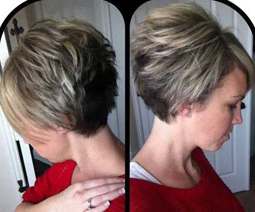 Hairstyles for Short Hair-15