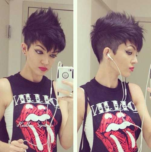 Hairstyles for Short Hair-16