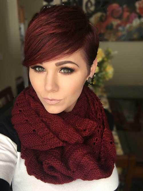 Red Pixie Hair-16