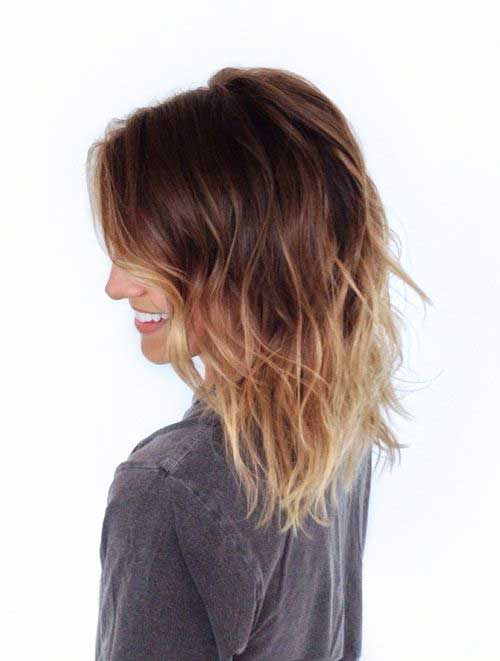 Ombre Hair Colors for Short Hair-17
