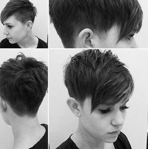 Cute Hairstyles for Short Hair-19