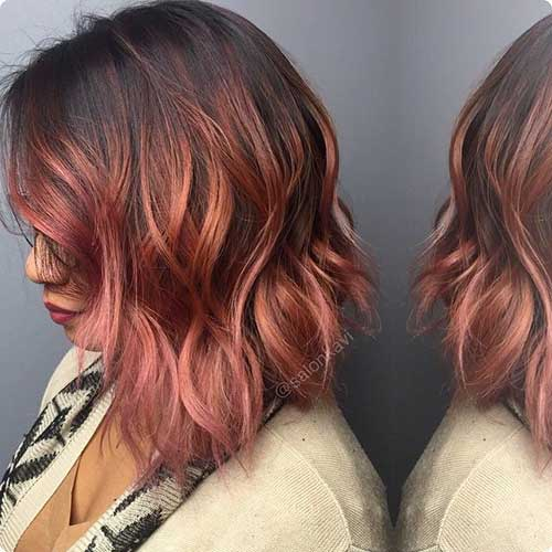 Ombre Hair Colors for Short Hair-19