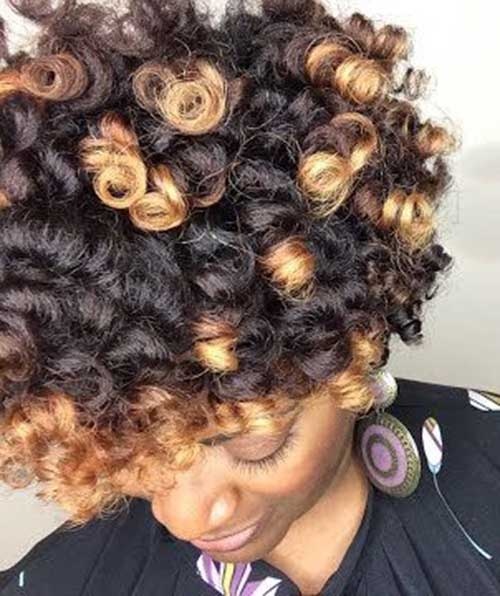 Hairstyles for Short Natural Hair-21