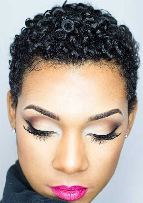 Hairstyles for Short Natural Hair-22