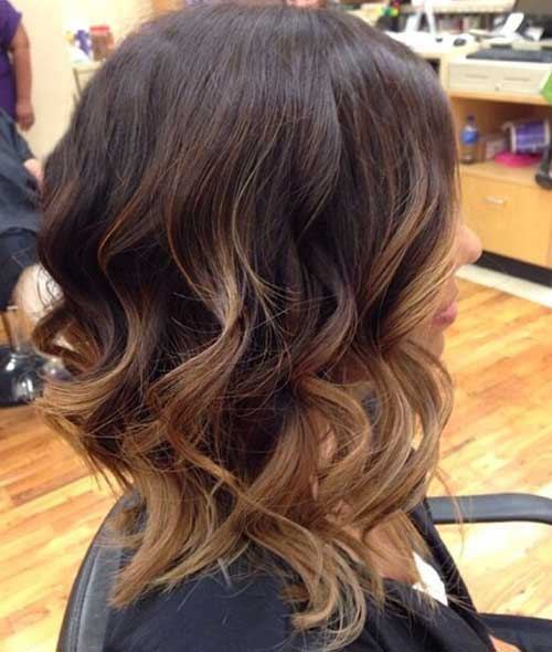 Ombre Hair Colors for Short Hair-23