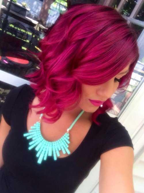 Short Hair Color-24