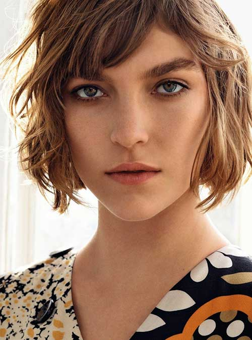 Hairstyles for Short Hair-25