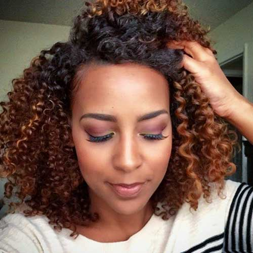 Hairstyles for Short Natural Hair-25