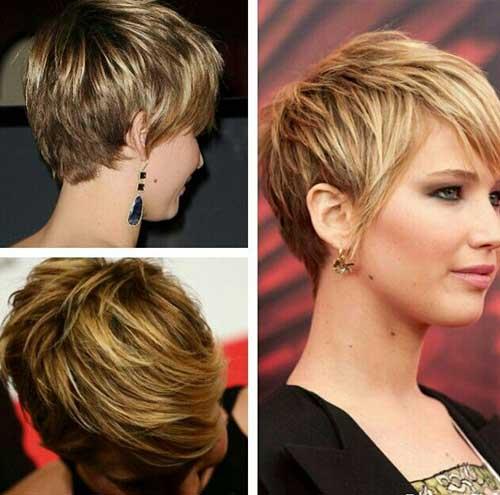 Cute Hairstyles for Short Hair-28