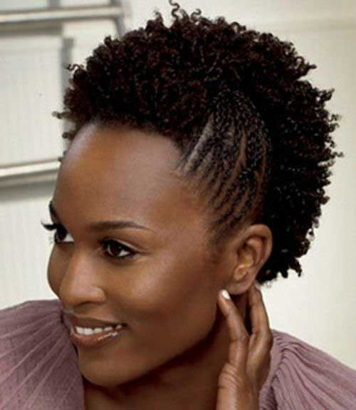 Short Natural Hairstyles for Black Women-28