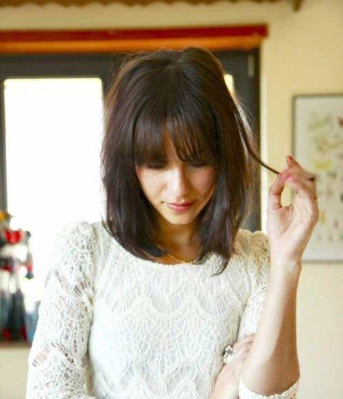 Short Hair with Bangs-30