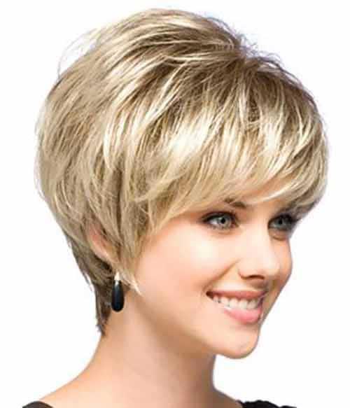 Cute Hairstyles for Short Hair-32