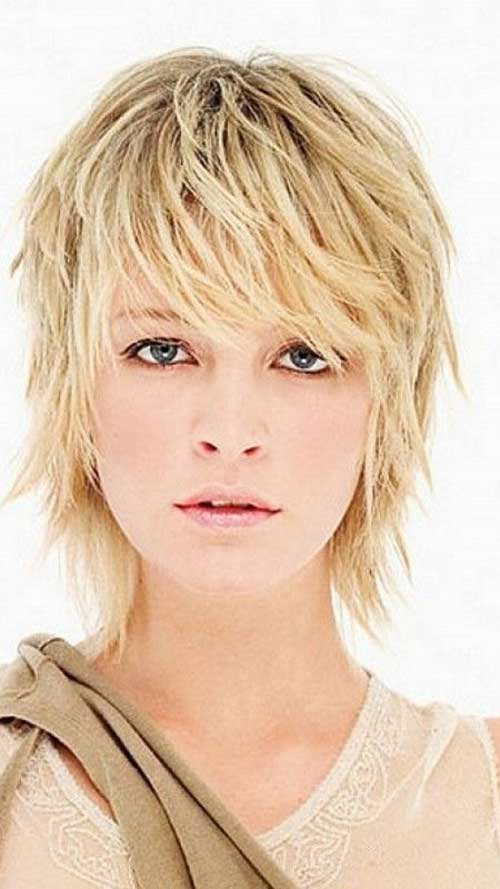 Hairstyles for Short Hair-32