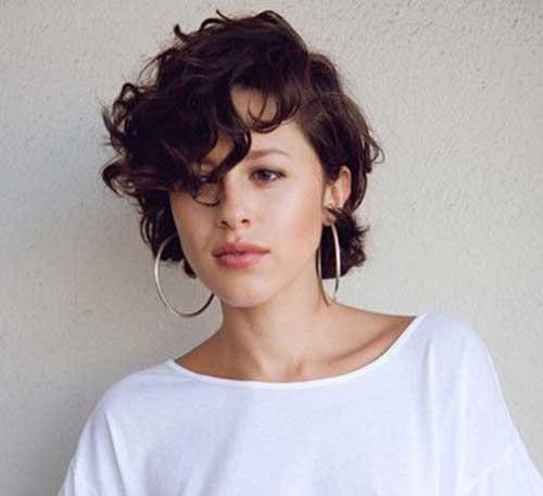 Short Curly Hair-33