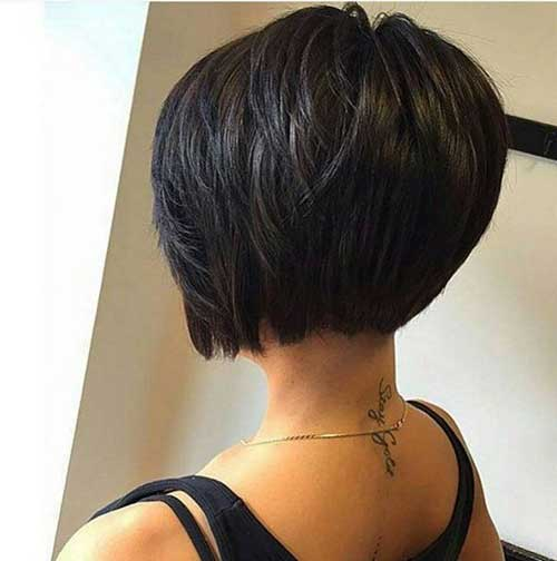 Bob Hairstyles Back View Bob Haircuts Stacked Bob Layered