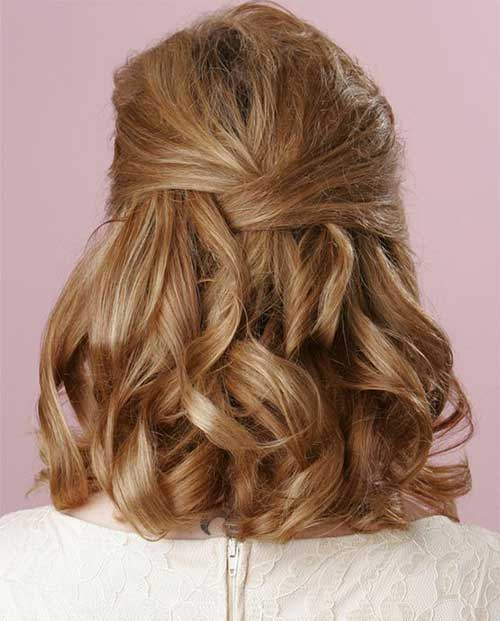 Hairstyles for Short Hair-34