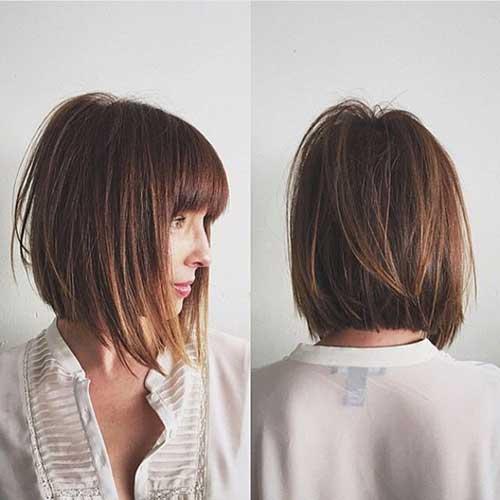 Short Hair with Bangs-34