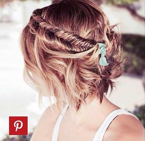 Cute Hairstyles for Short Hair-35