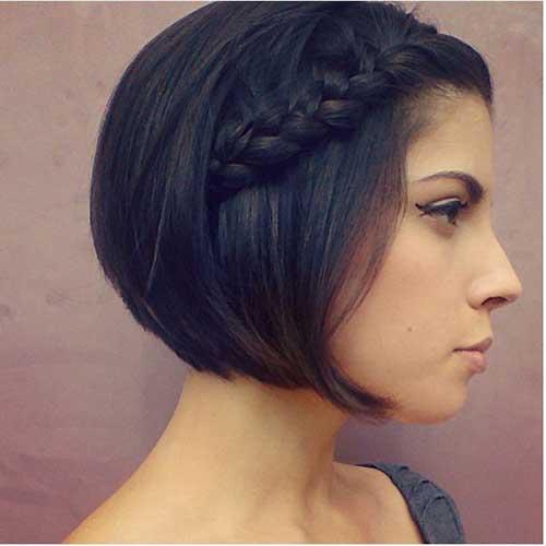 Cute Hairstyles for Short Hair-38