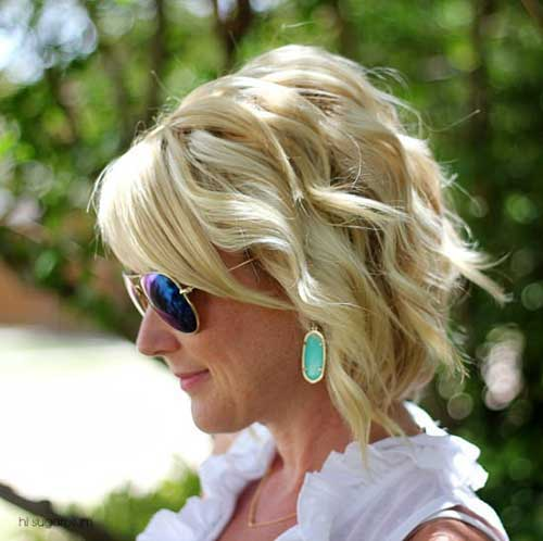 Hairstyles for Short Hair-38