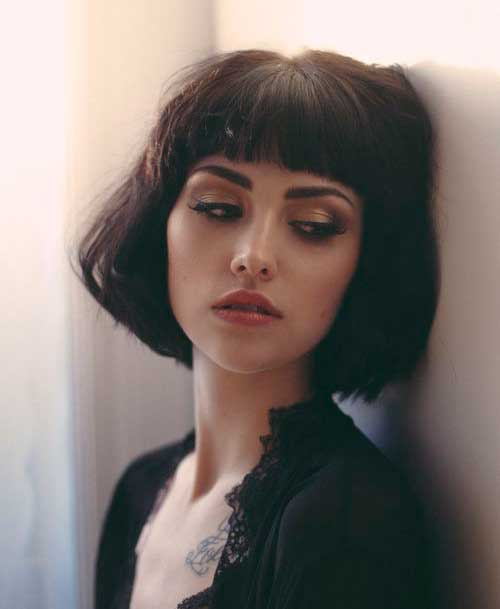 Hairstyles for Short Hair-40