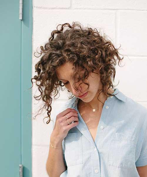 Short Curly Hair-41