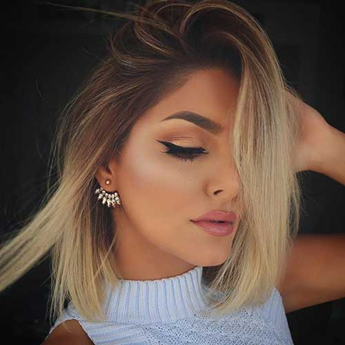Hairstyles for Short Hair-43