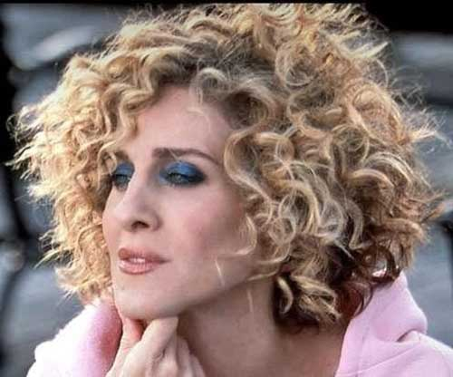 Short Hairstyles for Thick Curly Hair-6