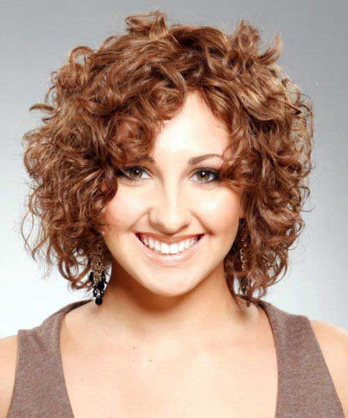 Short Hairstyles for Thick Curly Hair-7