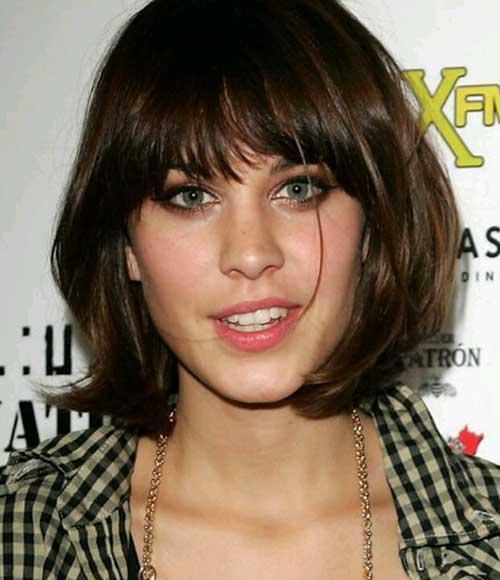 Short Hair with Bangs-8