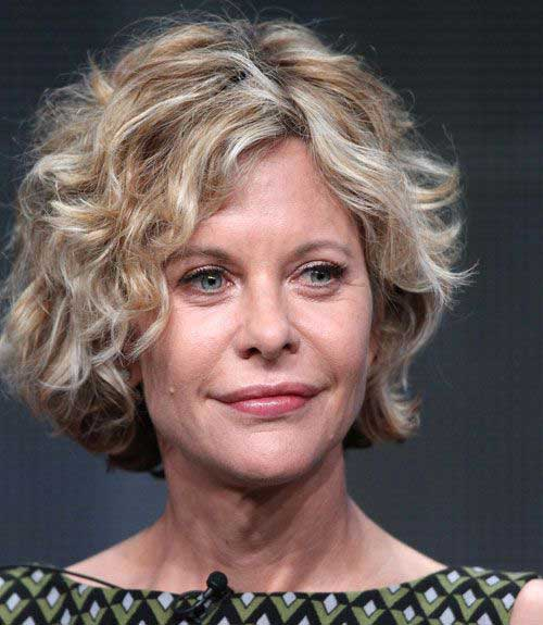 Short Hairstyles for Thick Curly Hair-8