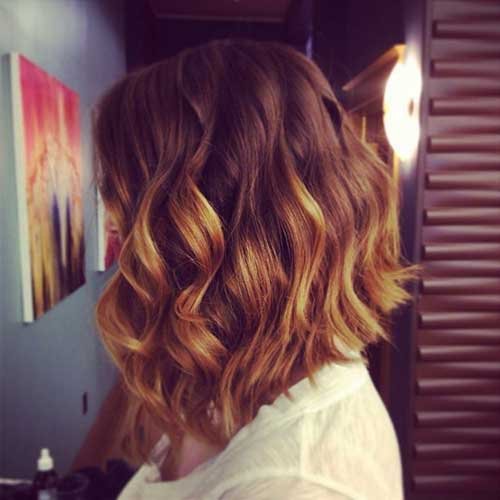 Ombre Hair Colors for Short Hair-9