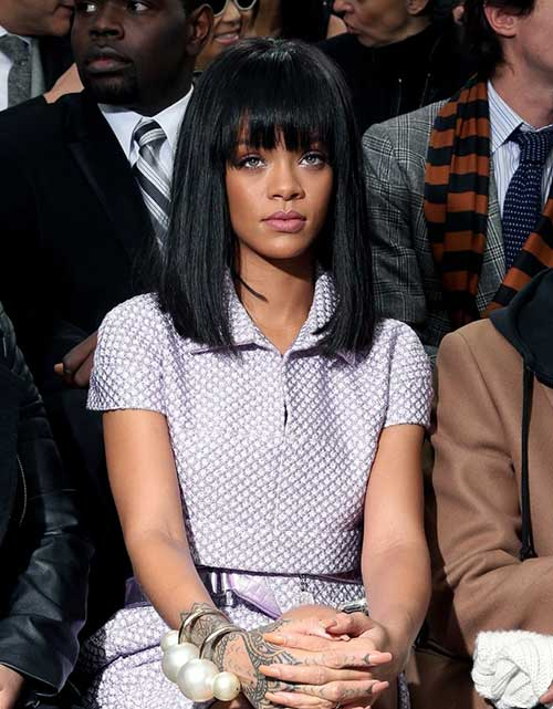 Rihanna Bob Haircut