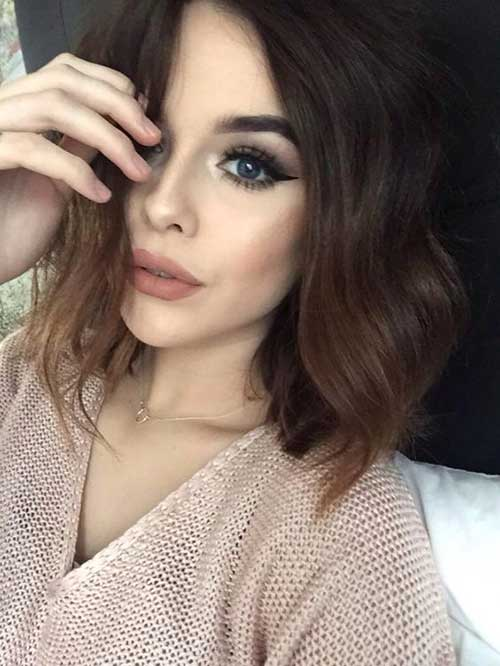 Dark Short Hair Colors-13