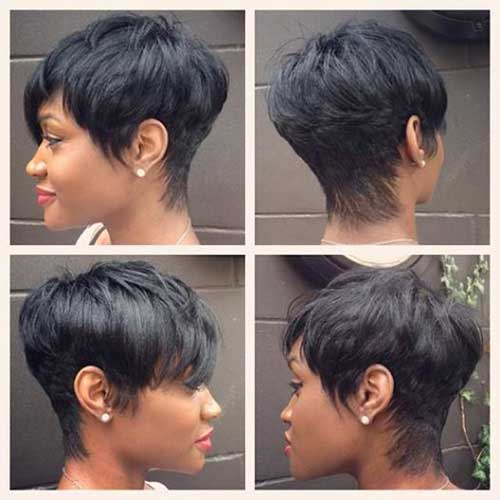 Short Hairstyles for Black Women-8