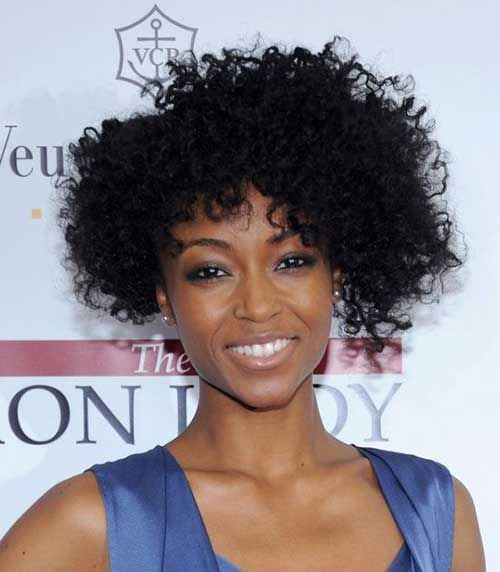 Naturally Curly Short Hairstyles-9