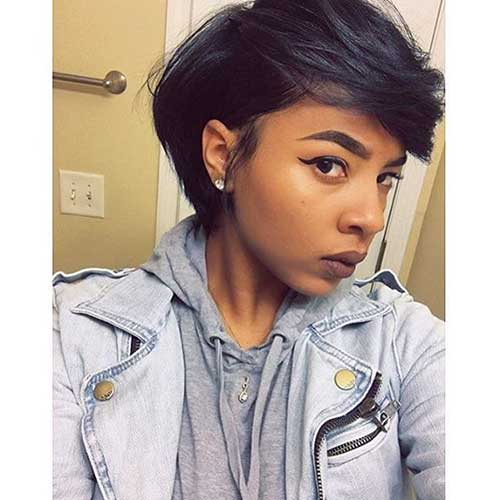 Short Hairstyles for Black Women-9