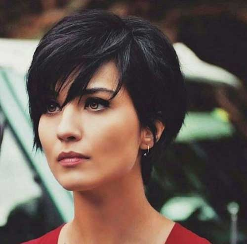 Trendy Long Pixie Hair