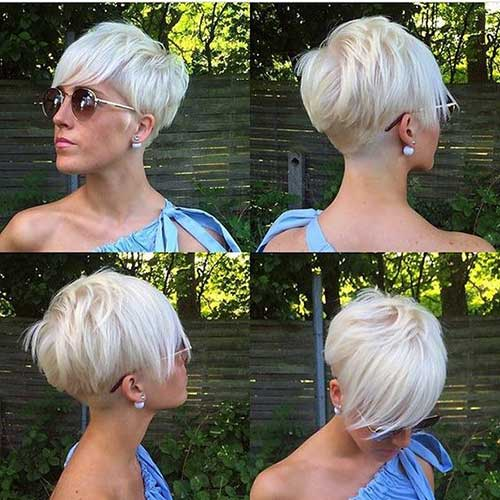 Trendy Long Pixie