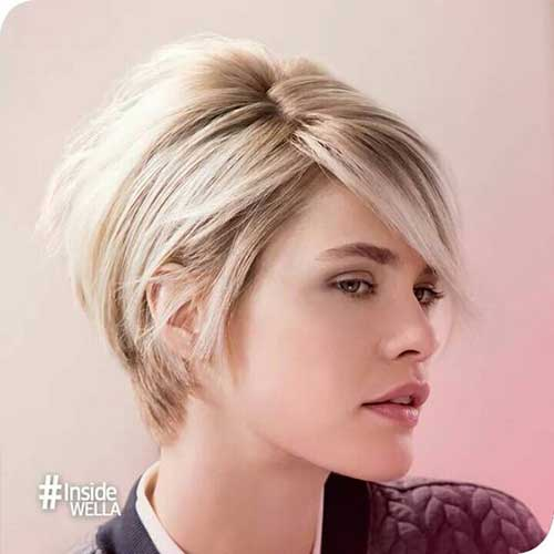 Short Hair Modern Women