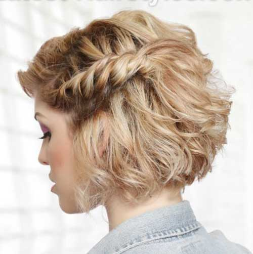 Short Hairstyles Updos