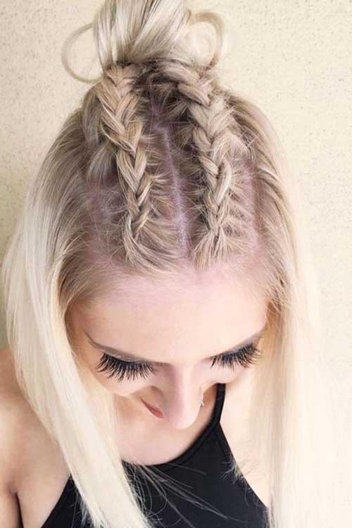 Braided Short Hairstyles-10