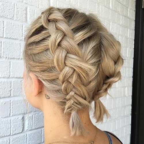 Braided Short Hairstyles-13