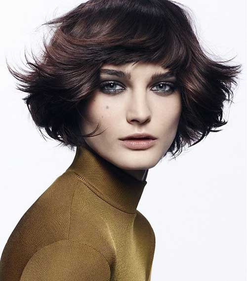 Short Layered Haircuts-13