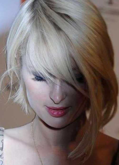 Curto em Camadas Cortes de cabelo-14