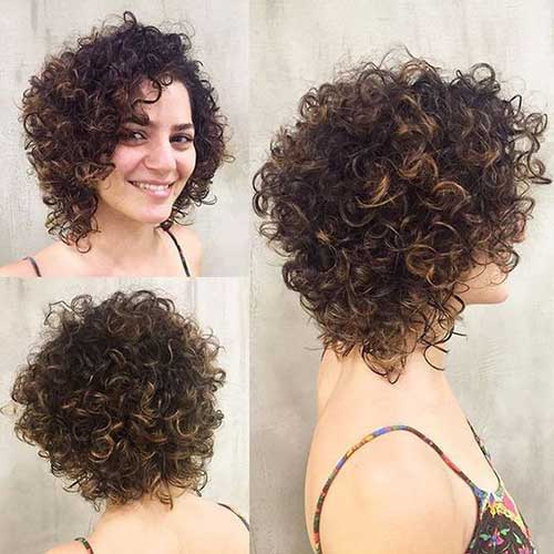 Stylish Curly Hairstyles for Short Haired Ladies | The Best Short ...