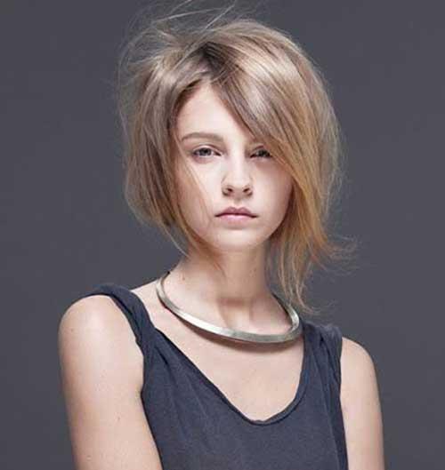 Camadas de Cortes de cabelo Curto