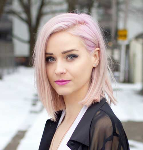 Pink Short Hairstyles-6